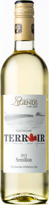 Legends Terroir Semillon 2013, VQA Lincoln Lakeshore Bottle