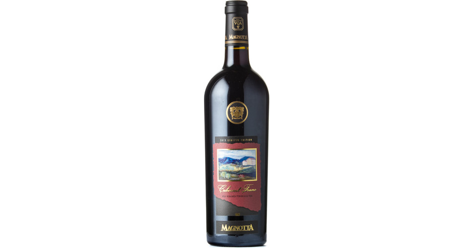 Magnotta Cabernet Franc Limited Edition 2013 Expert Wine Ratings And Wine Reviews By Winealign