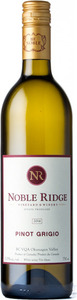 Noble Ridge Pinot Grigio 2014, BC VQA Okanagan Valley Bottle