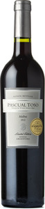 Pascual Toso Malbec Limited Edition 2012 Bottle