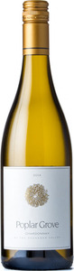 Poplar Grove Chardonnay 2014, Okanagan Valley Bottle