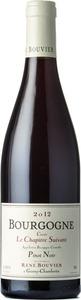 Domaine René Bouvier Bourgogne Pinot Noir Le Chapitre Suivant 2012 Bottle