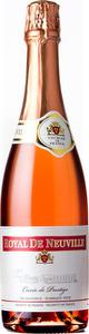 Royal De Neuville Cuvee Prestige Sparkling Rose, Loire Bottle