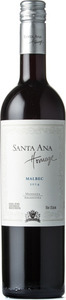 Santa Ana Homage Malbec 2014, Maipú Bottle