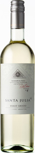 Santa Julia+ Pinot Grigio 2015, Mendoza Bottle