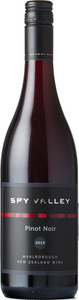 Spy Valley Pinot Noir 2013, Marlborough, South Island Bottle