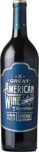 The Great American Wine Company Cabernet Sauvignon 2013, Central Coast Bottle