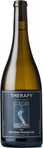 Therapy Artist Series Old Vines Chardonnay 2014, BC VQA Okanagan Valley Bottle