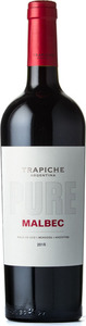 Trapiche Pure Malbec 2015 Bottle