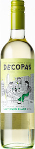 Decopas Sauvignon Blanc 2014 Bottle