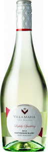 Villa Maria Lightly Sparkling Sauvignon Blanc 2015 Bottle