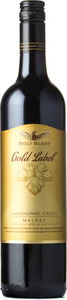 Wolf Blass Gold Label Malbec 2012, Langhorne Creek Bottle
