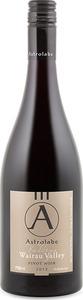 Astrolabe Valleys Wairau Valley Pinot Noir 2013, Marlborough Bottle