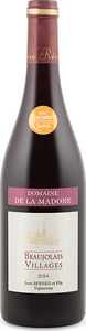 Domaine De La Madone Le Perréon Beaujolais Villages 2014, Ac Bottle
