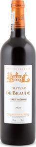 Château De Braude 2010, Ac Haut Médoc Bottle