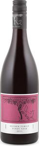 Becker Family Pinot Noir 2011, Qualitätswein Bottle