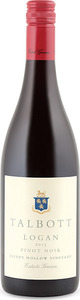 Talbott Logan Sleepy Hollow Vineyard Pinot Noir 2013, Santa Lucia Highlands Bottle
