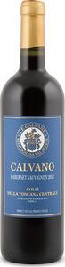 Calvano Cabernet Sauvignon 2012, Igt Colli Della Toscana Centrale Bottle