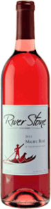 River Stone Estate Winery Malbec Rose 2014, BC VQA Okanagan Valley Bottle