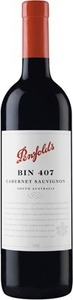 Penfolds Bin 407 Cabernet Sauvignon 2012, South Australia Bottle