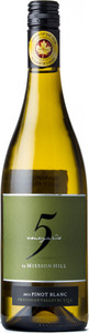Mission Hill 5 Vineyard Pinot Blanc 2014, VQA Okanagan Valley Bottle