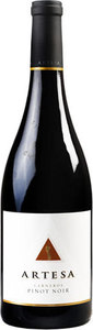 Artesa Winery Pinot Noir 2012, Carneros, California Bottle