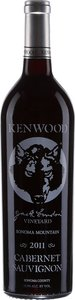 Kenwood Jack London Vineyard Cabernet Sauvignon 2011, Sonoma Mountain Bottle