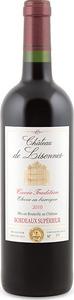 Château De Lisennes Cuvée Tradition 2010, Elevée En Barrique, Ac Bordeaux Supérieur Bottle
