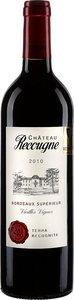Château Recougne Terra Recognita Cuvée Vieilles Vignes 2010 Bottle