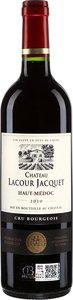 Château Lacour Jacquet Haut Médoc Cru Bourgeois 2010 Bottle