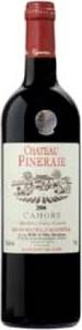 Château Pineraie Cahors 2011, Ac Bottle