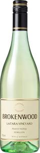 Brokenwood Latara Vineyard Semillon 2009, Hunter Valley Bottle