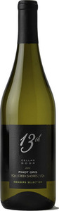 13th Street Cellar Door Members Selection Pinot Gris 2012, VQA Creek Shores Bottle