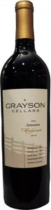 Grayson Cellars Zinfandel 2013, California Bottle