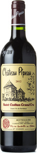Château Pipeau 2012, Ac St Emilion Grand Cru Bottle