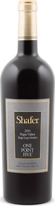 Shafer One Point Five Cabernet Sauvignon 2012, Stags Leap District, Napa Valley Bottle