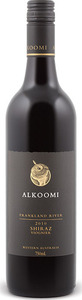 Alkoomi Black Label Shiraz/Viognier 2012, Frankland River Bottle