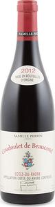 Coudoulet De Beaucastel Côtes Du Rhône 2013, Ac Bottle