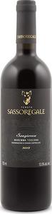 Sassoregale Sangiovese 2013, Igt Maremma Toscana Bottle