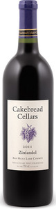 Cakebread Zinfandel 2012, Red Hills Lake County Bottle