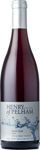 Henry Of Pelham Speck Family Reserve Pinot Noir 2010, VQA Short Hills Bench, Niagara Peninsula Bottle