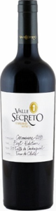 Valle Secreto First Edition Carmenère 2012, Cachapoal Valley Bottle