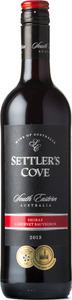 Settler's Cove Shiraz Cabernet Sauvignon 2013, South Eastern Australia Bottle