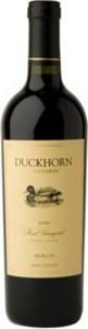 Duckhorn Stout Vineyard 2010 Bottle