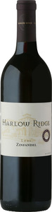 Harlow Ridge Zinfandel 2012, Lodi Bottle