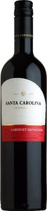 Santa Carolina Cabernet Sauvignon 2014, Rapel Valley Bottle