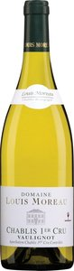 Louis Moreau Chablis Vaulignot Premier Cru 2013 Bottle