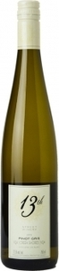 13th Street Pinot Gris 2012, VQA Creek Shores, Niagara Peninsula Bottle