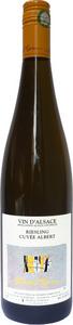 Domaine Albert Mann Riesling Cuvée Albert 2013 Bottle