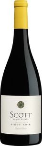 Scott Family Pinot Noir 2013, Dijon Clone, Arroyo Seco, Monterey County Bottle